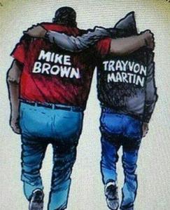 michael-brown-trayvon-martin