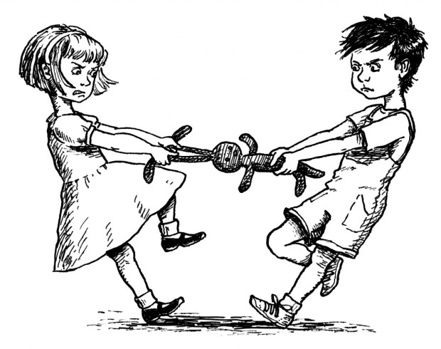 girl fights boy